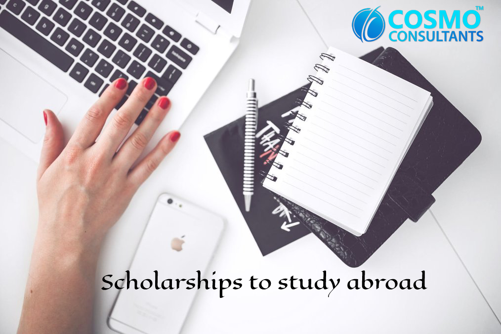 """While everyone is excited to look forward to study overseas, one should always be careful about their expenses, not for just one year but for the whole course tenure. There winning a scholarship can be a real help for your expenses. Meanwhile various scholarships are very competitive but still there are sufficient numbers of other scholarship programs that are easier to get. There is a high probability of identifying your expenses at the wrong rates, now you just got to identify the opportunities, tell a compelling story, and actually click on """"apply!"""" Now, most of the students go with the one of the biggest mistakes while drafting their financial plan beforehand without the guidance of an overseas education consultants is not applying for study abroad scholarships. Here are 5 crucial tips required for study abroad scholarship applications which can convert your international dreams into reality. 1. Never get afraid of Hard Work for Study Abroad Scholarships Are you trying to get a scholarship, whether for full-time study abroad is hard work. You'll probably need to look for around half a dozen opportunities that you hope to win. It'll take time, so plan your schedule in such a way where every Monday, Wednesday, and Sunday night you can sit, plan and work on applications for 3 hours. If you are looking for motivation tips, then have a look at your bank account and then at the pictures of Tokyo and Brazil. Study abroad scholarships is the only way to bear the expenses. 2. Prepare a list of Everything You Qualify For Start Practicing with your home university, then move on to external providers. Meet with people around the study abroad consultants office. Now find about what's available, eligibility, what the requirements are, and when the deadline is. Then google search """"study abroad + undergraduate + scholarship + country/language/major"""" and add those to the list. You will be applying to as many applications as possible. 3. Understand the Organization's Goals and Va"""