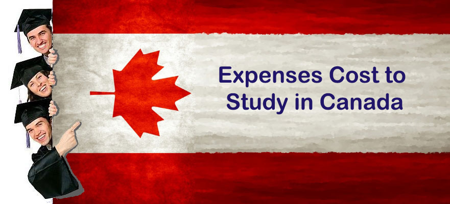 Expenses Costs to study in Canada