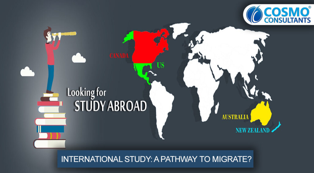 INTERNATIONAL STUDY: A PATHWAY TO MIGRATE?