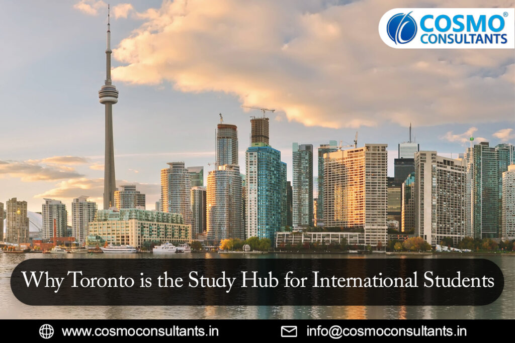 Why Toronto is the Study Hub for International Students