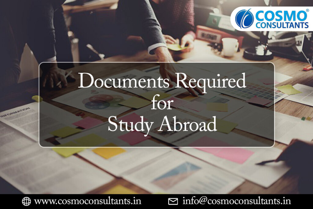 Documents Required for Study Abroad