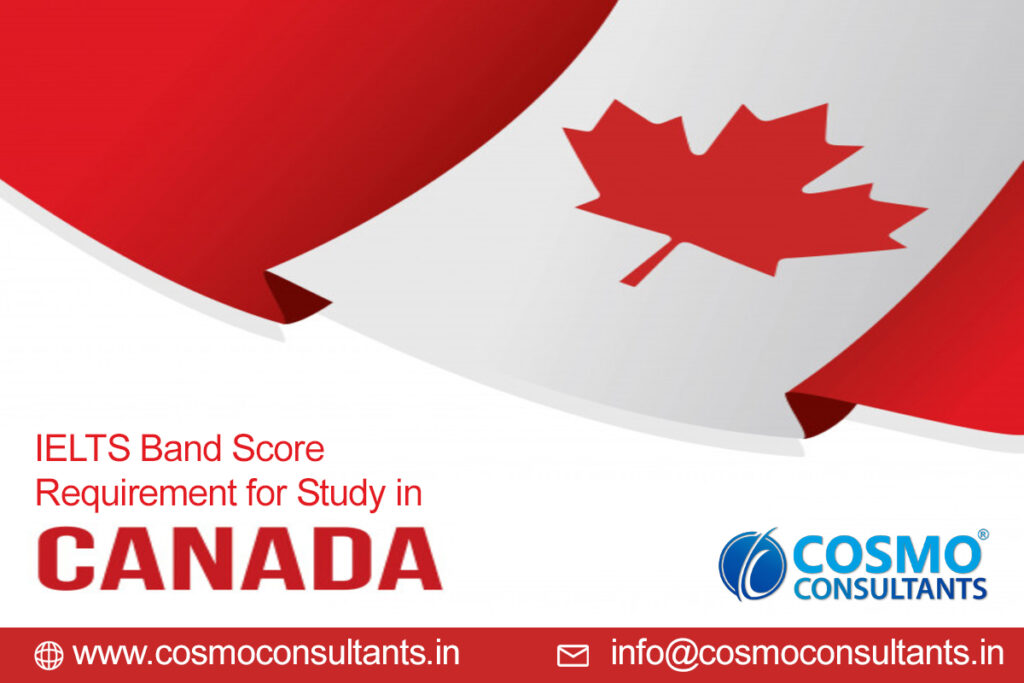 IELTS Band Score requirement for Study in Canada