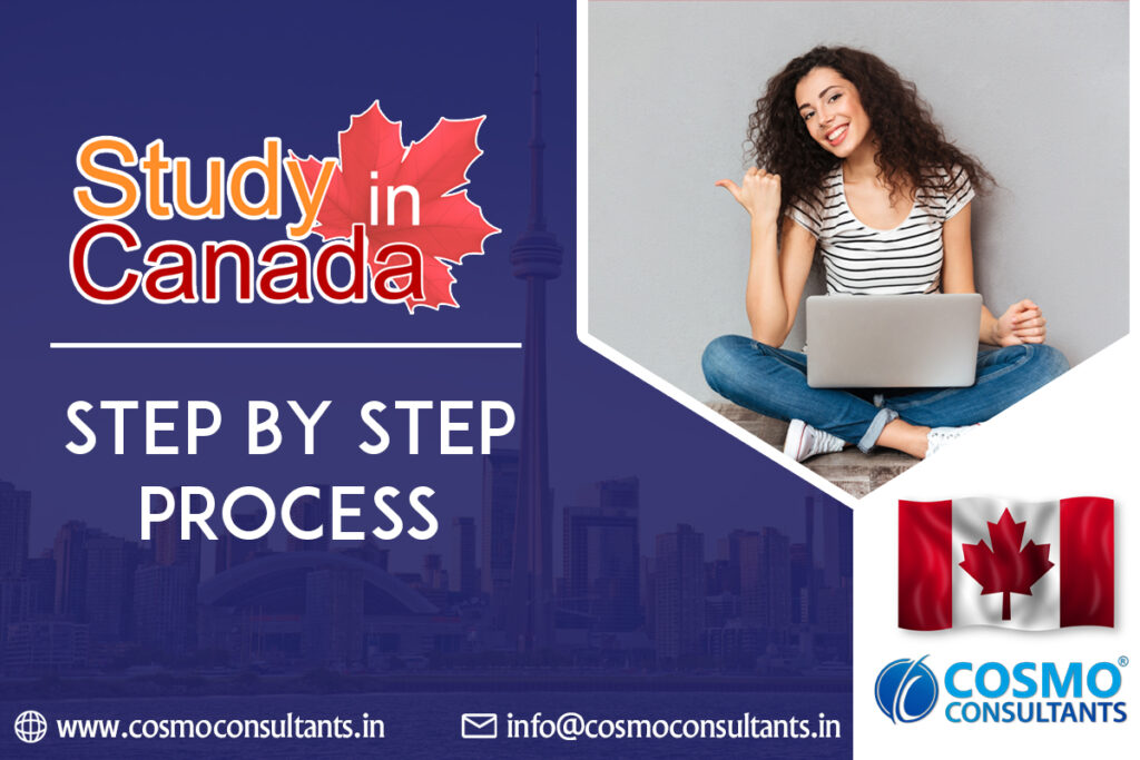 Study in Canada: Step-by-Step process