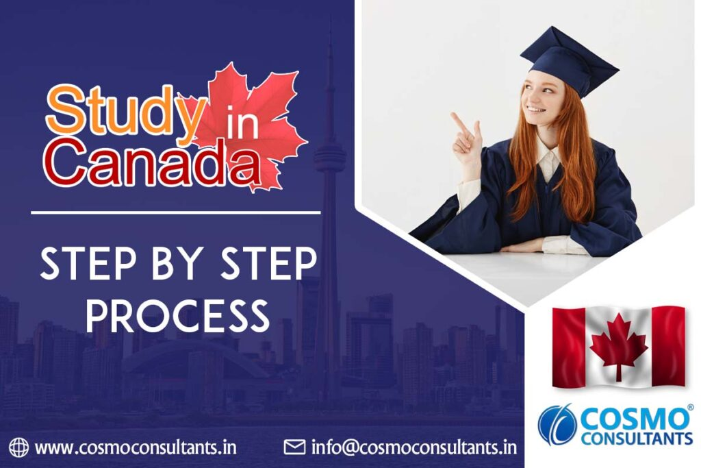Study In Canada - Step By Step Process