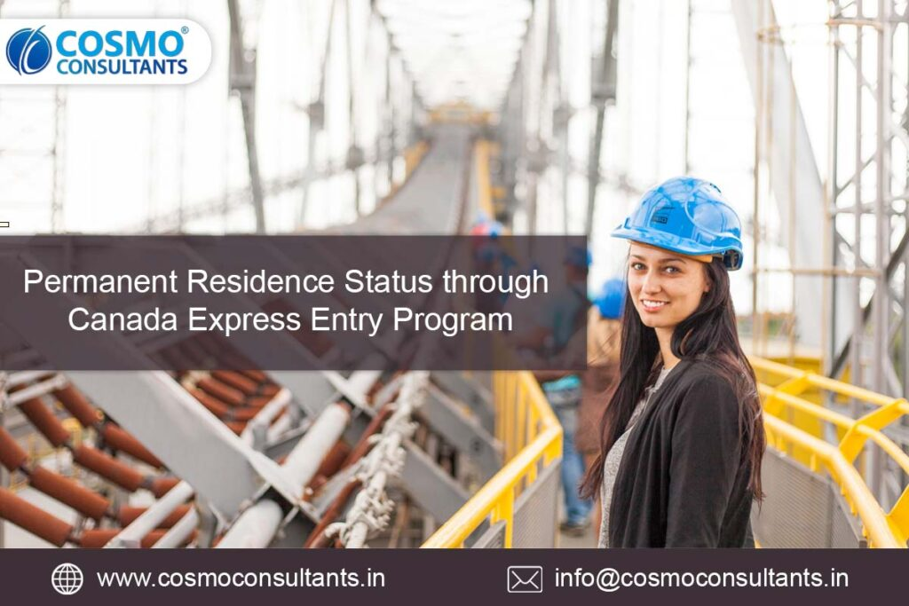 Permanent Residence Status through Canada Express Entry Program