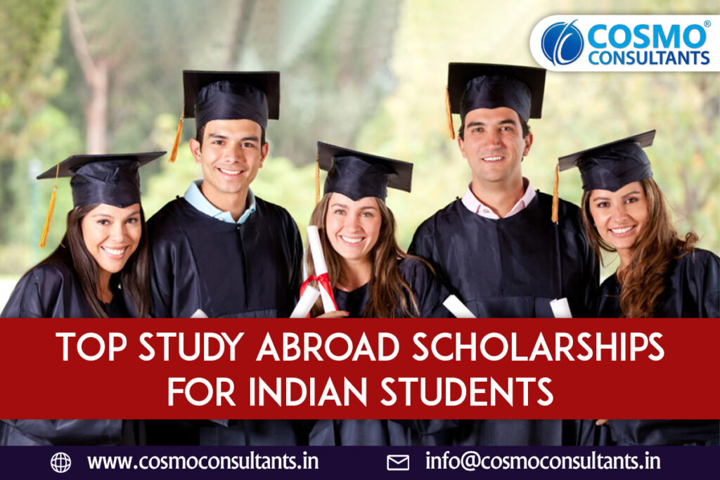 Top Study Abroad Scholarships for Indian Students