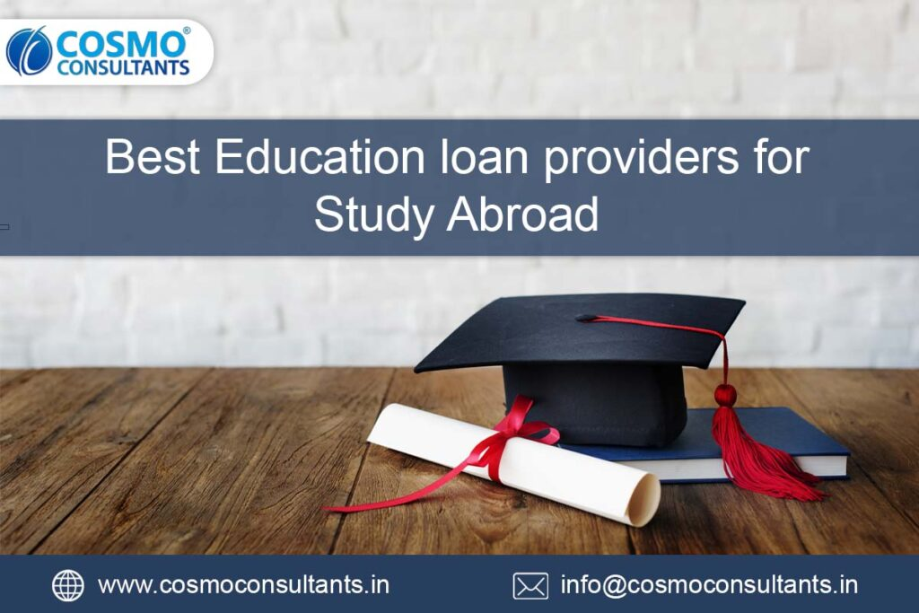 Best Education Loan Providers for Study Abroad