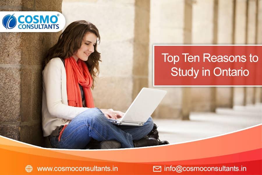 Top Ten Reasons to Study in Ontario