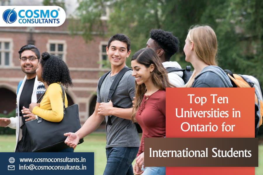 Top Ten Universities in Ontario for International Students
